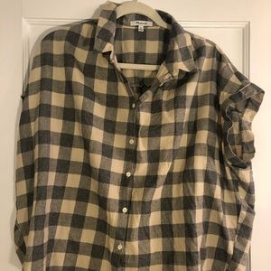 Madewell short sleeve button down